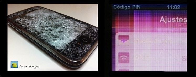 Cristal Digitalizador y Display LCD de iPhone 3G/3GS